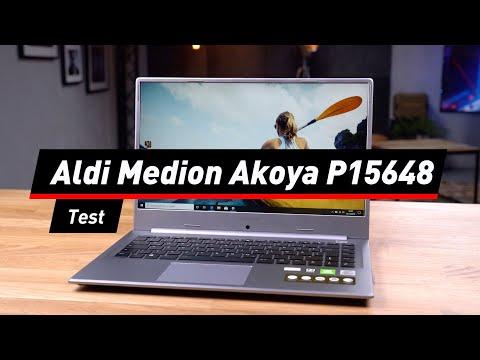Medion Akoya P15648: Schickes Notebook im Test   deutsch