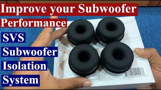 SVS Soundpath Subwoofer Isolation System - Unboxing, installation & Review