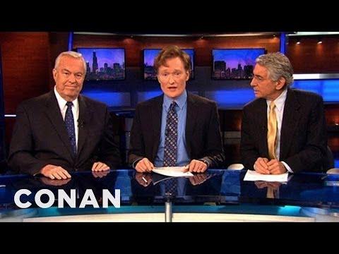 Conan Joins The CBS Local News - CONAN on TBS
