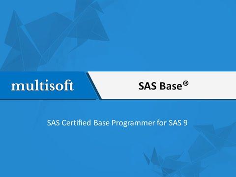 SAS Base Online Certification Training   Multisoft Virtual Academy ...