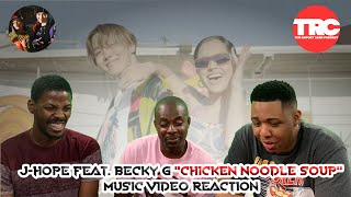 "J Hope Feat. Becky G ""Chicken Noodle Soup"" Music Video Reaction"