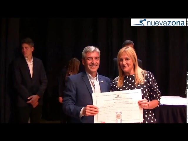 Miguel Heft, al recibir su diploma