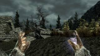Skyrim Mod - City of Heroes Sounds Test - With Fire and Lightning
