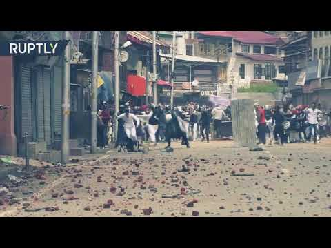 Clashes erupt in Kashmir during eid |Kashmir banega Pakistan|India ja ja Kashmir sy nikal ja
