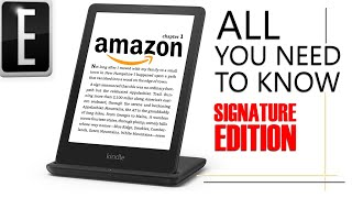 Amazon Kindle Paperwhite 5 + Signature Edition   What you need to know
