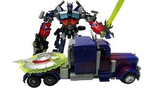 Lắp ráp robot biến hình Optimus Prime Transformer Robot Toys for Children