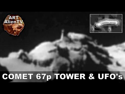 COMET 67p TOWER & UFO's – Rosetta Alien Anomalies. ArtAlienTV 1080p