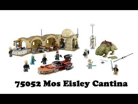 Vidéo LEGO Star Wars 75052 : La Cantina de Mos Eisley