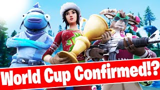 Next Fortnite WORLD CUP 2020 Confirmed!? *REAL*