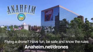 Flying a Drone in Anaheim?