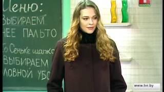 """Наталья Синяева в студии программы """"День в большом городе""""."""