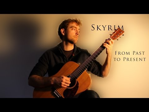 Skyrim - From Past To Present Solo Guitar Cover (by Harry Murrell)