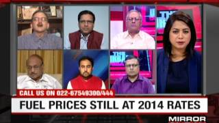 "My discussion on subject on ""Should you pay more for fuel – The Urban Debate""Mirror Now"