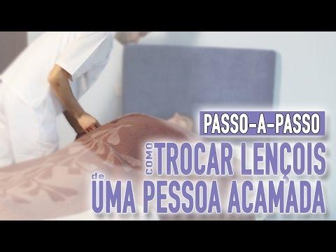 Imagem ilustrativa do vídeo: Como trocar lençóis de uma pessoa acamada