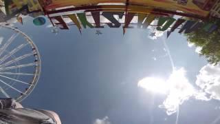 preview picture of video 'Insane Ride in Peine, Germany - Verrücktes Fahrgeschäft in Peine, Deutschland'