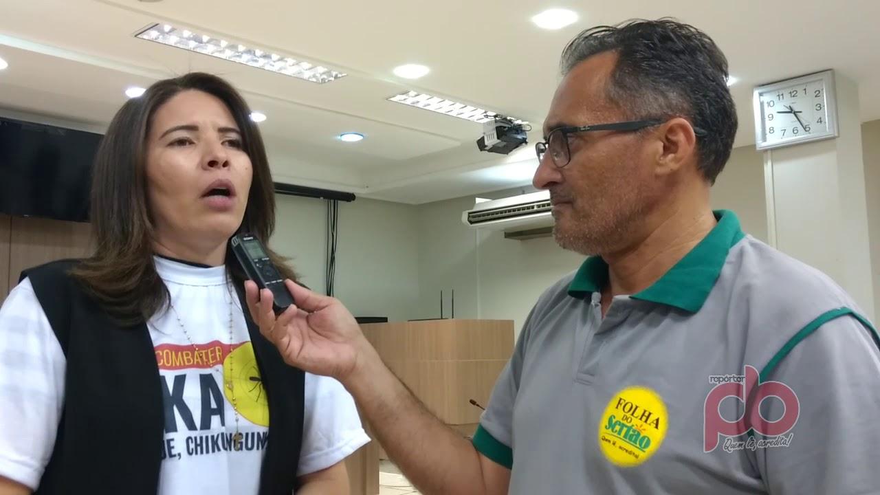 Audiência Pública debate sobre surto da Dengue em Sousa; Secretária de Saúde faz apelo à população