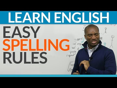 Learn English - Basic rules to improve your spelling