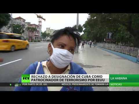 Cuba y su pueblo responden a la designación como 'Estado patrocinador del terrorismo'