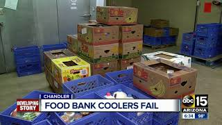 Chandler food bank coolers fail at critical time