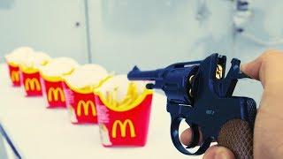 EXPERIMENT GUN vs MCDONALD