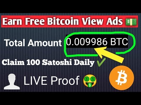 Download Earn And Claim Free Bitcoin Using Mobile Phone With Proof
