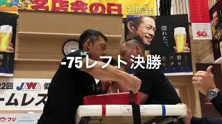 第22回愛媛県アームレスリング大会
