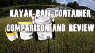 3 Different Bait Tank Options for your Kayak!!