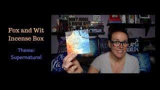 Fox & Wit Incense Box | May 2018 Supernatural
