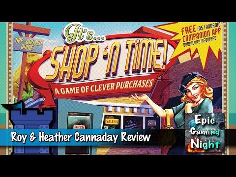 Roy & Heather Cannaday look at Shop 'N Time