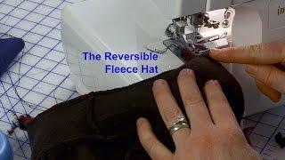J Stern Designs L How To Make A Reversible Fleece Hat