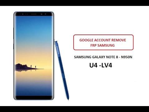 Bypass Remove FRP Google Lock Samsung Galaxy Note 8 N950N Korean