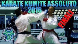 Karate Assoluto Kumite Maschile 2016 - Finali