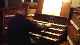Л. Вьерн. Симфония для органа №3 - Allegro. Йоанн Вексо. Репетиция концерта 14.11.2014