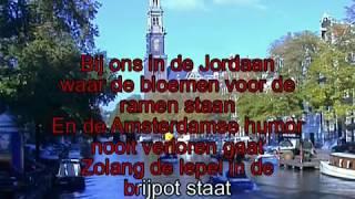 Johnny Jordaan -  Bij ons in de jordaan ( KARAOKE ) Lyrics