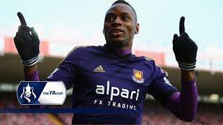 Bristol City 0-1 West Ham - FA Cup Fourth Round | Goals & Highlights