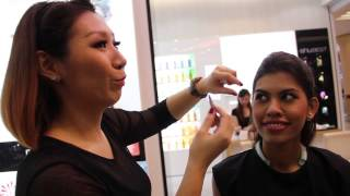 Miss Universe Malaysia 2015 contestants makeup tutorial