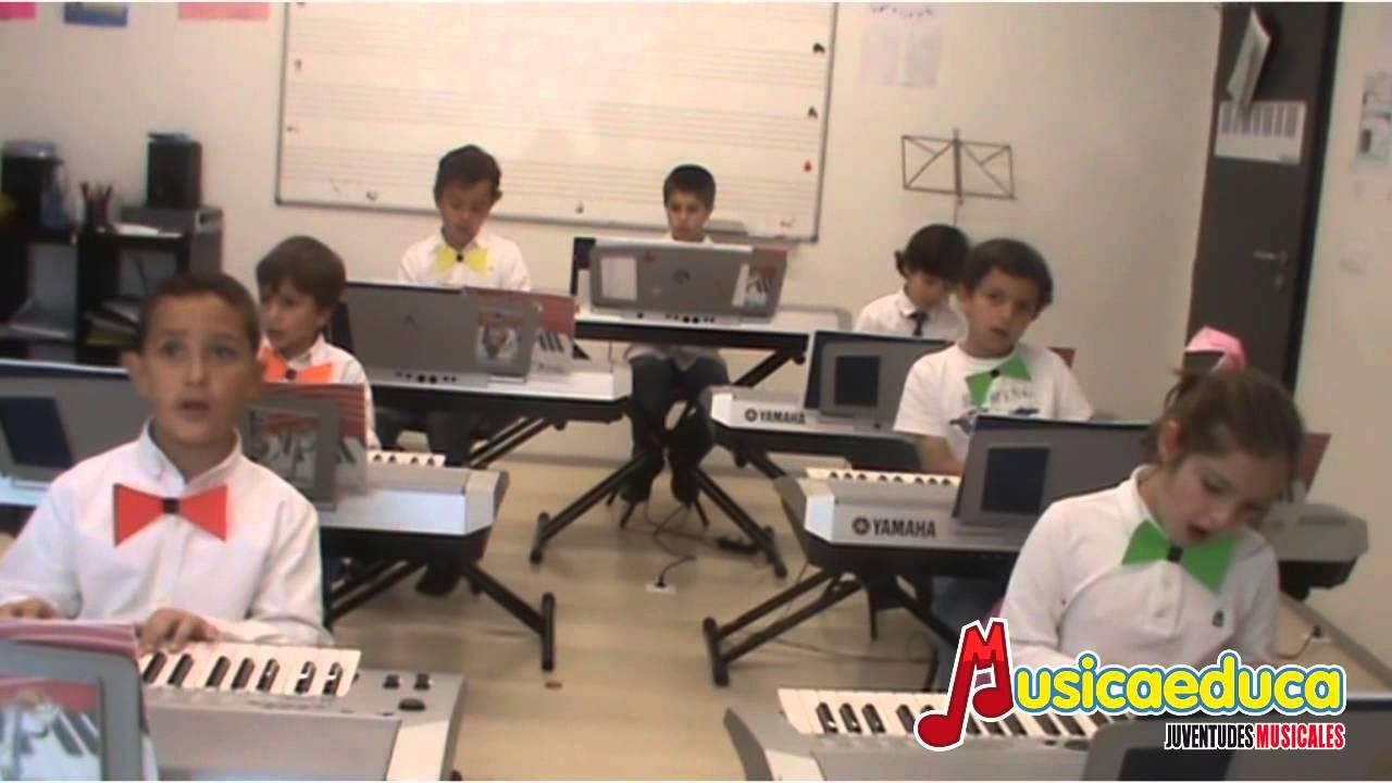 Un Chass!!! - Grupo de alumnos Mi Teclado 2 - Musicaeduca Ciudad Real