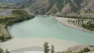 Слияние двух рек: Чуя и Катунь