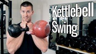 Kettlebell Swing   Workout mit der Kettlebell