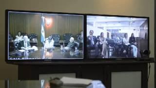 preview picture of video 'Videoconferencia de Fausto Pocar en la Cámara Federal de Apelaciones de Tucumán'
