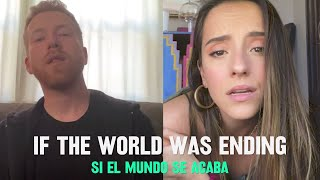 Official Spanglish Version | JP Saxe – If The World Was Ending  Subscribe to the JP Saxe YouTube Channel https://JPSaxe.lnk.to/YouTube  Watch the Official Video for If The World Was Ending https://JPSaxe.lnk.to/ITWWEPlaylist  Listen To If The World Was Ending (Spanglish Version) https://jpsaxe.lnk.to/ITWWESpanglish  Listen to If The World Was Ending https://JPSaxe.lnk.to/IfTheWorldWasEnding  Follow JP Saxe Website: https://www.jpsaxe.com Instagram: https://www.instagram.com/jpsaxe/ Facebook: https://www.facebook.com/jpsaxe/ Twitter: https://twitter.com/jpsaxe  Follow Evaluna www.twitter.com/montanerevaluna www.instagram.com/evaluna www.facebook.com/evalunamontaner www.youtube.com/evalunamontaner    Lyrics Estaba distraído, en el tráfico  No me asustó cuando la tierra tembló Pero me puse a pensar  Si estabas por ahí bebiendo  O si estabas en la sala, viendo televisión  Ha pasado un año  Creo que ya descubrí   Cómo dejarte ir Y cómo dejar nuestra comunicación morir    Tú y yo sabemos que lo nuestro no era para siempre, y está bien Tú y yo sabemos que no estábamos hechos el uno para el otro, y está bien   Si el mundo se acaba tú vendrías verdad Tú vendrías a quedarte acá  Me amarías solo porque sí?  Nuestros miedos nos darían igual    Si el mundo se acaba tú vendrías verdad?  Si se cae el cielo yo te abrazo más  Tú y yo juntos solo porque sí No te tendrías ni que despedir    Si el mundo se acaba tú vendrías verdad?  Verdad? Si el mundo se acaba tú vendrías verdad?  Verdad?    Last night the bed shook  It didn't scare me 'cause I'm used to feeling your feet shake from the cold at night But I reached for you diagonally  And found your side of the bed to be empty  Ah, I ask myself If the world was ending, Wouldn't you like it to end while we're together    I know you know that loving each other from afar isn't the same I know that you know that missing each other like this isn't good for us.     Si el mundo se acaba tú vendrías verdad Tú vendrías a quedarte acá  Me amarías solo porque sí?  Nuestros miedos nos darían igual    If the world was ending you'd come over right?  Both of us falling with the gravity.  Would you come over even if this may be our last time?  Si el mundo se acaba tú vendrías verdad? Tú vendrías, tú vendrías, tú vendrías verdad ?    I know you know that loving each other from afar isn't the same Tú y yo sabemos que no estábamos hechos el uno para el otro, y está bien     Si el mundo se acaba tú vendrías verdad Tú vendrías a quedarte acá  Me amarías solo porque sí?  Nuestros miedos nos darían igual    If the world was ending you'd come over right?  both of us falling with the gravity  Would you come over even if this may be our last time?    Si el mundo se acaba tú vendrías verdad? Tú vendrías tú vendrías tú vendrías verdad? Si el mundo se acaba tú vendrías verdad?  I tried to imagine  your reaction  didn't scare me when the earthquake happened  But it really got me thinkin'  that night we went drinkin'  stumbled in the house  and didn't make it past the kitchen  ah it's been a year now  think I've figured out how  how to think about you  without it rippin' my heart out   I know you know we know you weren't down for forever and it's fine  I know you know we know we weren't meant for each other and it's fine   #jpsaxe | #IfTheWorldWasEnding | #Evaluna