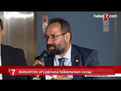 Bahçeli'nin af çağrısına hükümetten cevap (видео)