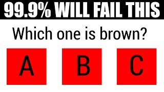 99.9% OF PEOPLE WILL FAIL THIS EYE TEST (If You Score 15/15 You Are a Genius!)