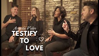 Avalon-Testify To Love (Acoustic Video)