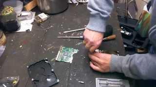 PC Festplatte öffnen und Edelmetalle finden