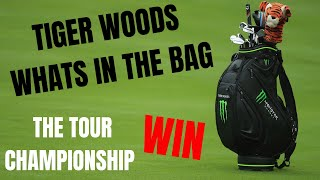 Tiger Woods Whats In The Bag - Win Number 80