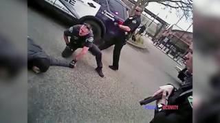 Полицейский застрелил преступника, вооруженного ножом.