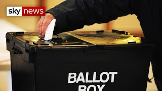 Vote 2021: UK voters get ready to go the polls