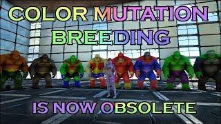 Ark Survival Evolved: Color Mutation Breeding Is Now Obsolete! Warpaint