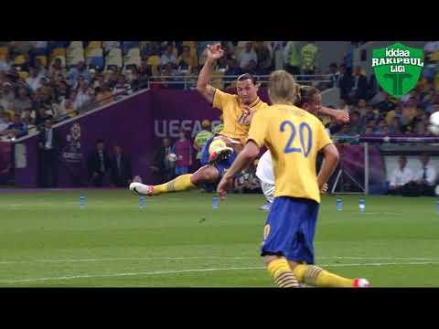 İbrahimoviç'e nazire yaparcasına bir gol!
